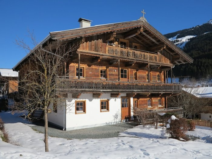 Real Estate in 6373 Jochberg : Jochberg: Charming garden apartment in old farmhouse - Picture 1