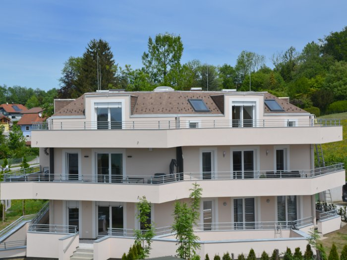 Immobilie in 5300  Hallwang : BEREITS FERTIG GESTELLT - HALLWANG/MAYRWIES: Panorama-Penthouse mit rundum Terrasse in begehrter Stadtrandlage! - Bild 1
