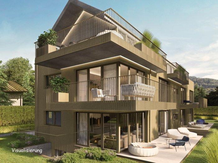 Immobilie in 5020 Salzburg : NEUER PREIS! NEUBAUPROJEKT AIGEN: Sonnendurchflutete 3-Zimmer-Wohnung mit 20 qm Terrassentraum - Bild 1