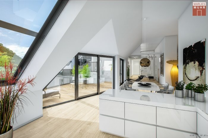 Real Estate in 1040  Wien : 4th DISTRICT: Rooftop dream apartment with stunning views of Vienna - Picture 1