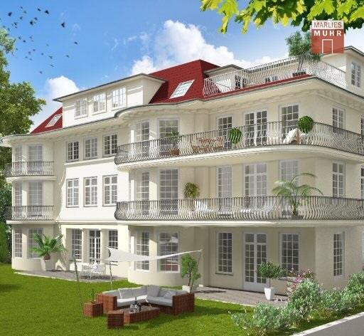 Immobilie in 1180  Wien : ZEITLOS KLASSISCH! Nähe Türkenschanzpark - Cottage Viertel: Exklusive Wohnung in repräsentativer Gründerzeit-Villa - Bild 1