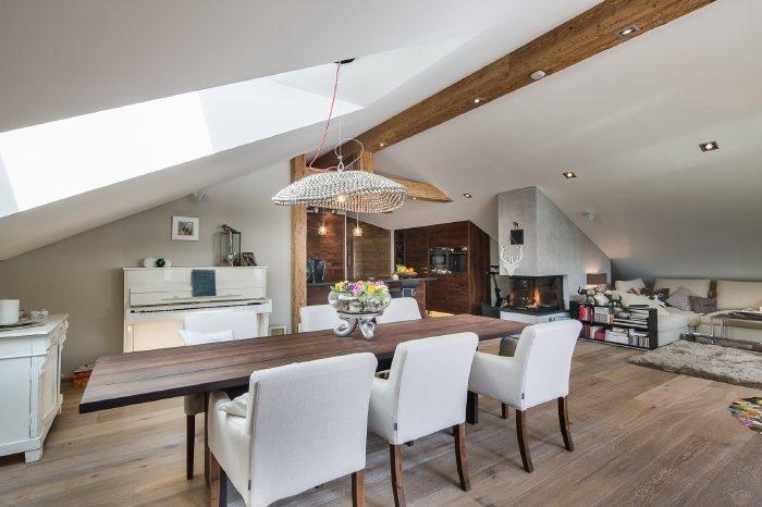 Immobilie in 6365  Kirchberg : Kirchberg: Piffiges Penthouse Nähe Fleckalm-Lift - Bild 1