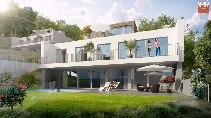 Real Estate in 2371  Hinterbrühl : NEXT DOOR TO NATURE – Newly built villa with pool on the outskirts of Vienna - Picture 1