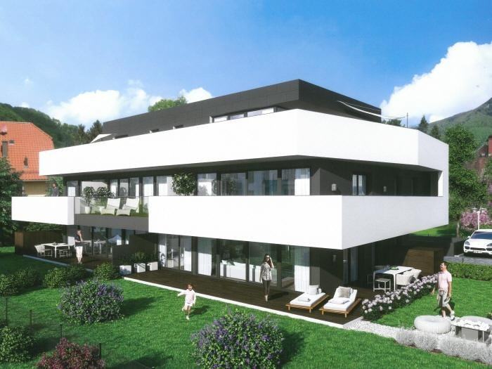 Real Estate in 5020  Salzburg : New construction project in Maxglan: Comfortable 2-, 3-, 4-room apartments with garden or terrace! - Picture 1