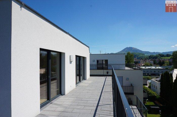 Immobilie in 5020  Salzburg : FLY HIGH IN MAXGLAN: 3-Zimmer Erstbezugs-Penthouse-Wohnung mit sonniger Dachterrasse - Bild 1