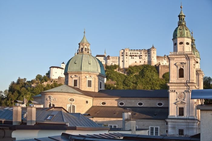 Real Estate in 5020  Salzburg : UNIQUE VIEW FROM THE PRIVATE ROOF TERRACE! - Picture 1