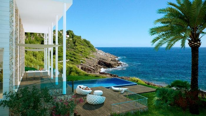 Real Estate in 07589  Provensals : Mallorca: You are sure to enjoy the sunset in this dream villa - Picture 1