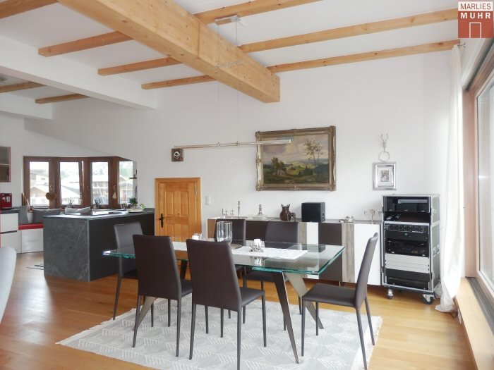 Real Estate in 6365  Kirchberg : Kirchberg: rooftop terrace jewel with a lift directly to the apartment - Picture 1