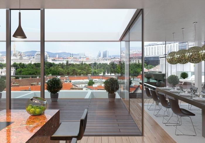 Real Estate in 1030  Wien : SPITZENLAGE MIT SPITZENBLICK ÃœBER DIE STADT IM DIPLOMATENVIERTEL - Picture 1