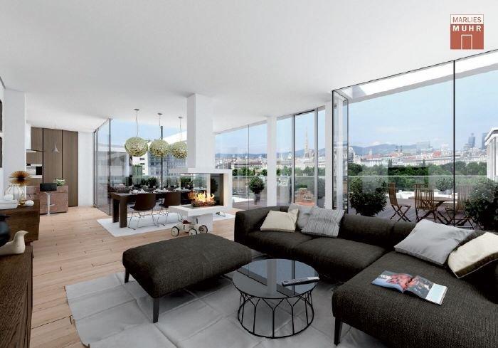 Immobilie in 1030  Wien : IM DIPLOMATENVIERTEL DES 3. BEZIRKS: Dachgeschosstraum auf höchstem Niveau - Bild 1