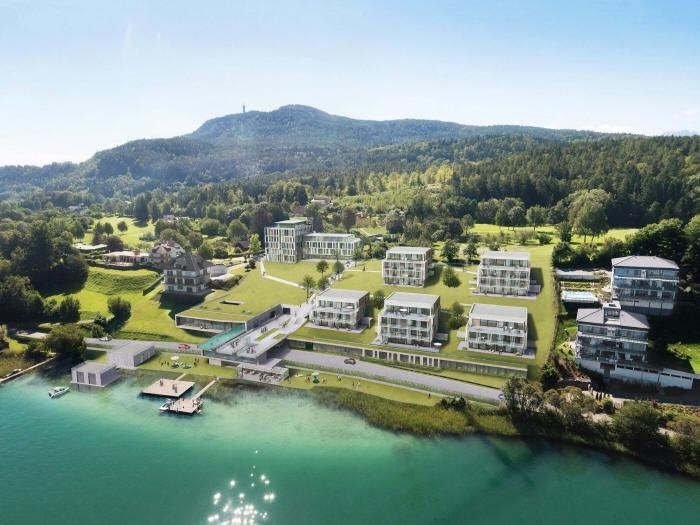 Real Estate in 9082  Maria Wörth : WÖRTHERSEE: Exclusive apartment in luxury resort! - Picture 1