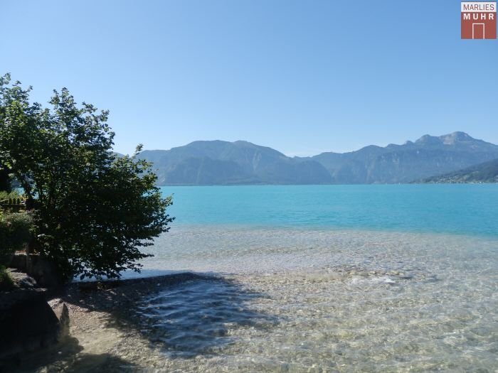 Real Estate in 4853  Steinbach am Attersee : PARADISE ON ATTERSEE: Lakeside property with old stock and private driveway - Picture 1