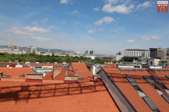 Real Estate in 1030  Wien : WOHNKULTUR DER EXTRAKLASSE: Terrassen-Juwel vom Feinsten - Picture 1