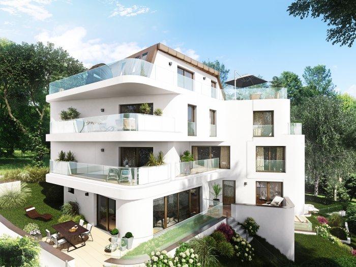 Immobilie in 1190 Wien : Wohnung mit aufregendem Ausblick, in bester Döblinger Villengegend, wartet auf Sie! - Bild 1
