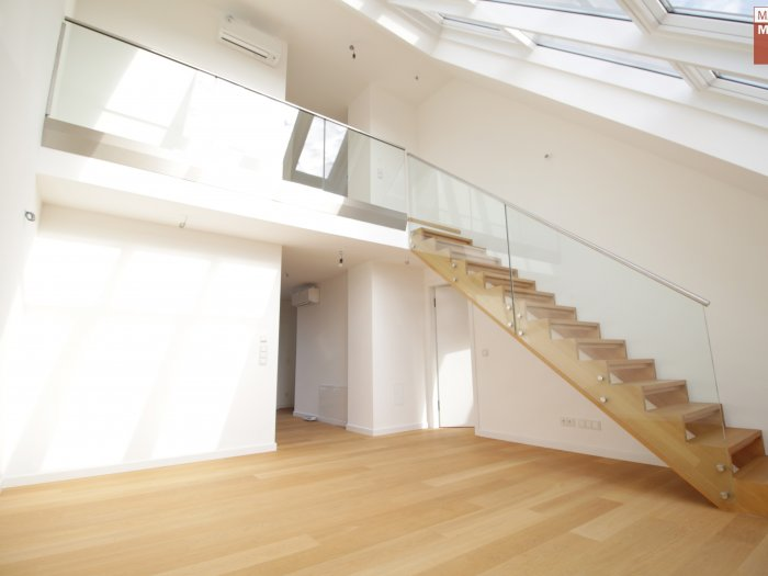 Real Estate in 1030  Wien : VIENNA- in third district: Roof terrace apartment in vogue! - Picture 1