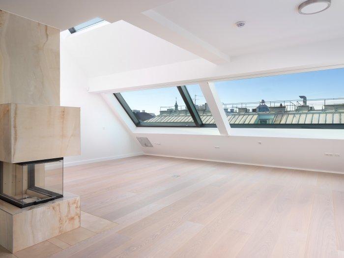 Immobilie in 1010 Wien : Glanz unterm Dach - Penthouse mit WOW-Effekt! - Bild 1