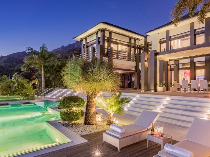 Real Estate in 29500  Marbella : MARBELLA-GOLDEN MILE: PURE LIFESTYLE! First-class domicile - where life is simply beautiful... - Picture 1