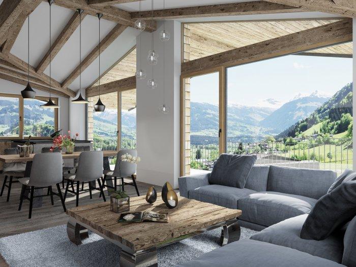 Immobilie in 6370 Kitzbühel : Kitzbühel: Weihnachten im neuen Penthouse Nähe Schwarzsee - Bild 1