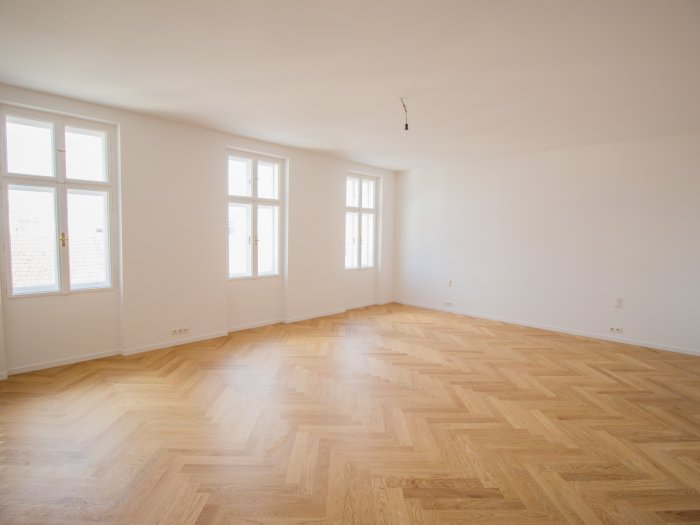 Real Estate in 1040  Wien : WIEDEN - NEAR BELVEDERE: 3-room apartment in top-renovated turn of the century building - Picture 1