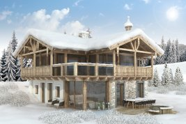 Real Estate in 5731 Hollersbach : Hollersbach: exclusive holiday chalet with designer furnishings