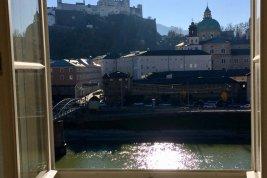 Immobilie in 5020 Salzburg : LEBEN UND ARBEITEN MIT FESTUNGSBLICK! Große 2-Zimmer-Wohnung/Büro in Bestlage!