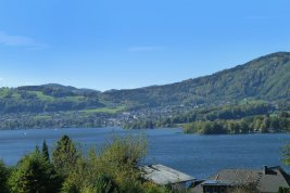 Real Estate in 4810 Gmunden : RARITY in Gmunden on LAKE TRAUNSEE! Spring fever on a sunny slope - here, the view caresses your soul!