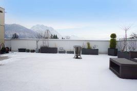 Immobilie in 4810 Gmunden: AHOI AM TRAUNSEE: edler Penthouse-Flair mit eigener Aussichtsplattform und Platz für bis zu 3 Familien! - Bild