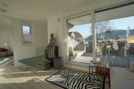Immobilie in 5020 Salzburg : Aussichtsreiches Penthouse-Leben! Style & smile im Heimvorteil!