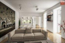 Immobilie in 1040  Wien : ALTBAUCHARME NÄHE BELVEDERE: Familienwohnung mit großem Balkon im Botschaftsviertel