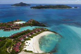 Real Estate : EDEN PRIVATE ISLAND SEYCHELLES: Townhouse with wide-ranging views for best possible living comfort. - Picture