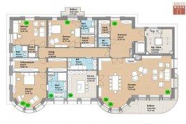 Immobilie in 1180  Wien: ZEITLOS KLASSISCH! Nähe Türkenschanzpark - Cottage Viertel: Exklusive Wohnung in repräsentativer Gründerzeit-Villa - Bild
