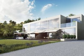 Real Estate in 25083  Gardone Riviera: LAKE GARDASEE PANORAMIC LOCATION IN GARDONE: High end living in an architect's villa - Picture