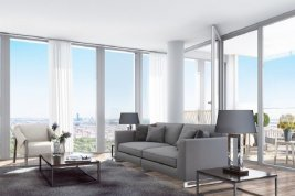Real Estate in 1100  Wien: APARTMENT WITH VIEWS OVERLOOKING VIENNAÂ'S SKYLINES - Picture