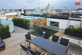 Real Estate in 1010  Wien : Top luxury class: Penthouse apartment with pool new the Staatsoper