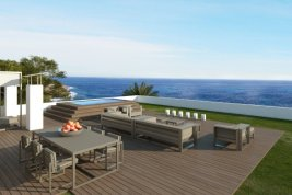"Real Estate in 07589  Provensals: Mallorca: Modern villa with ""Panoramic sea view"" - Picture"