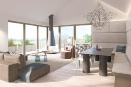 Real Estate in 5026  Salzburg: Penthouse with lots of light in Aigen - Picture