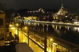Immobilie in 5020 Salzburg : ERSTE REIHE SALZACH-KAI MIT STADTBLICK! 4-Zimmer-Balkonwohnung mit Wohlfühlfaktor!