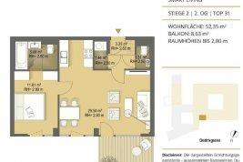 """Real Estate in 1030  Wien: FÜR DEN ANSPRUCHSVOLLEN ANLEGER: Gut vermietbare 2 Zimmer Wohnung Nähe """"Wien Mitte"""" - Picture"""