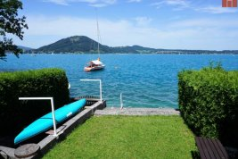 Real Estate in 4852  Weyregg am Attersee : RARITY ON ATTERSEE - SECONDARY RESIDENCE DEDICATION: Fabulous 638 sqm plot of land with old stock and private lake ground!