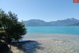 Real Estate in 4853  Steinbach am Attersee : PARADISE ON ATTERSEE: Lakeside property with old stock and private driveway