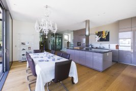 Real Estate in 5163  Mattsee: FANTASTIC LOCATION ON THE MATTSEE LAKE: Trendy panoramic villa with lift and stunning lake views - Picture