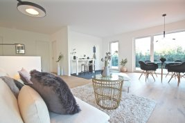 Real Estate in 5020  Salzburg: AIGEN - FIRST-TIME OCCUPANCY: 145 sqm, 4-room garden apartment with 185 sqm of private ground! - Picture