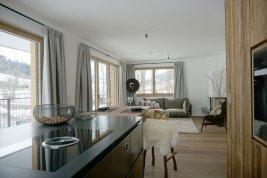 Immobilie in 6370 Kitzbühel : KITZBÜHEL: 3-Zimmer-Wohnung zum Erstbezug mit 2 Carports und Lift  - Nähe Schwarzsee inkl. Einrichtungsgutschein!