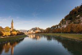Immobilie in 5020 Salzburg  : Ein Zuhause auf Zeit: Wohnungen in Ceconi Villa direkt am Salzachkai in der Altstadt von Salzburg