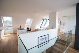 Real Estate in 1020 Wien : Walking distance to the 1st district… enchanting rooftop terrace apartment!