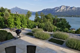 Real Estate in 5310 Mondsee: RELAXED LUXURY BY MONDSEE LAKE: excellently located lake-view villa offers holiday flair all year round! - Picture