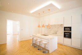 Real Estate in 1180 Wien : HERE YOU LIVE WITH PLENTY OF ATMOSPHERE: Stylish old-building apartment
