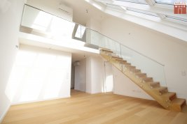 Real Estate in 1030  Wien : VIENNA- in third district: Roof terrace apartment in vogue!