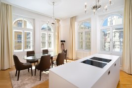 Real Estate in 1010 Wien : Fantastic old-style apartment in one of the most beautiful areas of Vienna's first district