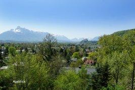 Immobilie in 5020 Salzburg : AIGEN- AM KÜHBERG: Unverbaubares Panoramagrundstück mit atemberaubenden Genussblick!